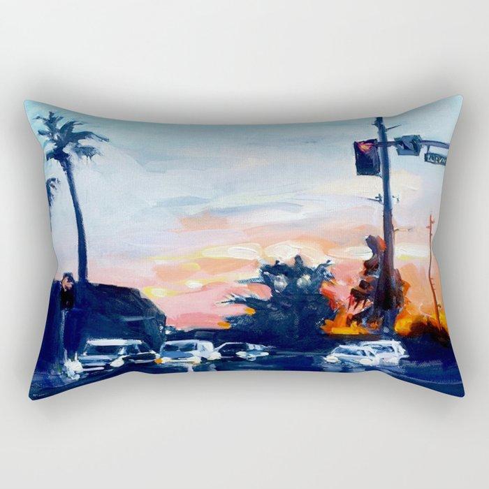 Triple Digits Rectangular Pillow