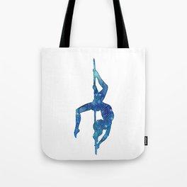 Pole dancer underwater Tote Bag