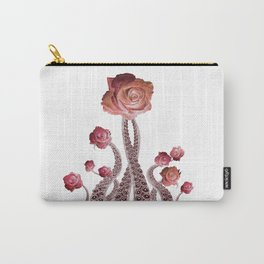 Floral Octopus Tentacles with Roses Carry-All Pouch