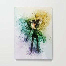 Steampunk Fairy Metal Print