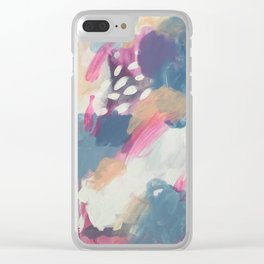 Without compromise Clear iPhone Case