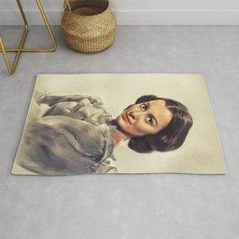 Olivia de Havilland, Actress Rug