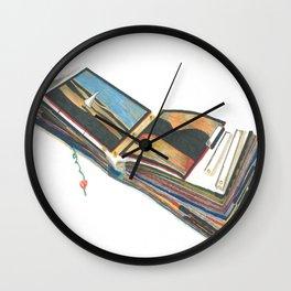 Scrap Book Wall Clock