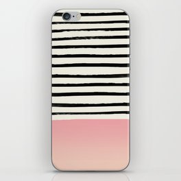 Blush x Stripes iPhone Skin