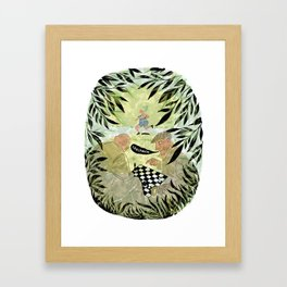 Check Mate Framed Art Print
