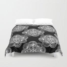 Tangled Mandala Pattern Duvet Cover
