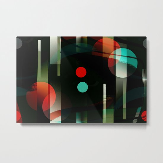 Multicolored abstract no. 62 Metal Print