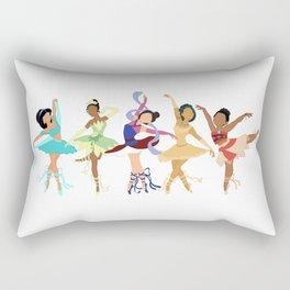 Ballerina Princesses of Color Rectangular Pillow