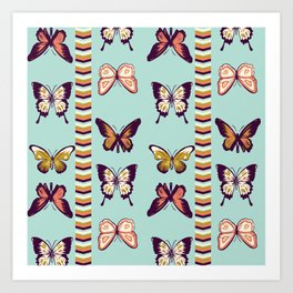 Butterfies II Art Print