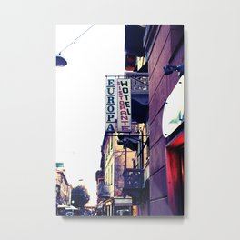 Hotel Europa Metal Print