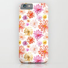 Painted Floral I Slim Case iPhone 6s