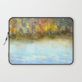 Autumn by the Lake Laptop Sleeve