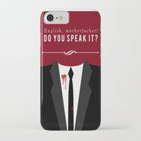 pulp fiction iPhone & iPod Cases featuring Pulp Fiction by Jason Vaughan