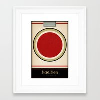 mad men Framed Art Prints featuring Mad Men by Impale Design