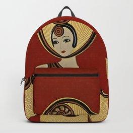 "Art Deco Design "" Willow Tree"" Backpack"