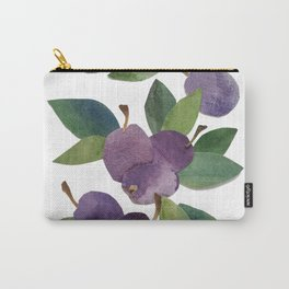 watercolor plums Carry-All Pouch
