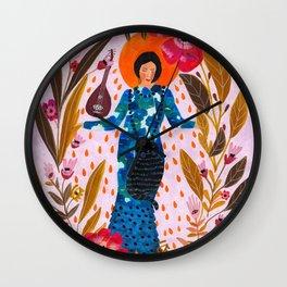 By Roeqiya Fris Wall Clock