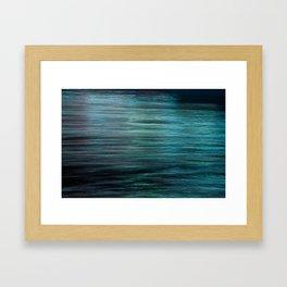 Night Light 138 - Ocean Framed Art Print