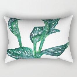 green calla lily Rectangular Pillow