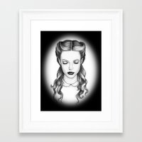 victorian Framed Art Prints featuring victorian by Taylor Jean
