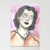 oitnb Stationery Cards featuring Morello OITNB by Ashley Rowe