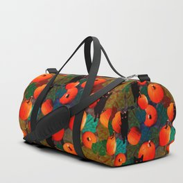Pumpkins and Black Cats Duffle Bag