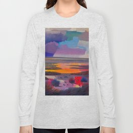 Pritty Landscape Long Sleeve T-shirt
