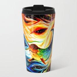 Space Narwhal Travel Mug