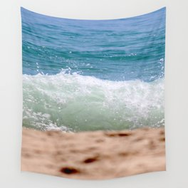 Crashing Ashore Wall Tapestry