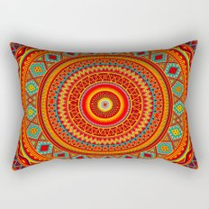 Mandala Aztec Pattern Rectangular Pillow