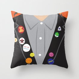 The Young Ones Poster Series :: Rick Throw Pillow