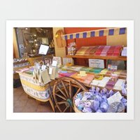 French Soaps Art Print