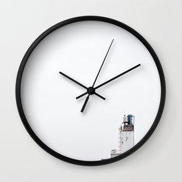 La contamination 5 Wall Clock