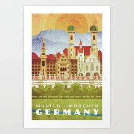 Munich Germany Art Print