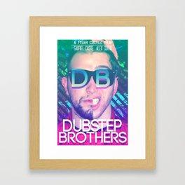 Dubstep Brothers Framed Art Print
