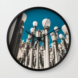 City of lights Wall Clock