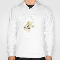 space cat Hoodies featuring Space Cat by Koning