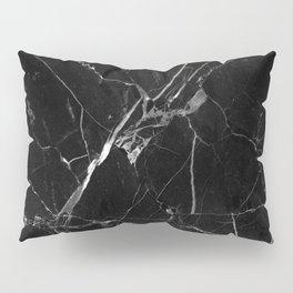 Black Marble Pillow Sham