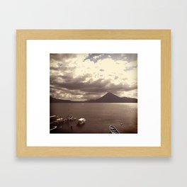 Lake Atitlan Framed Art Print