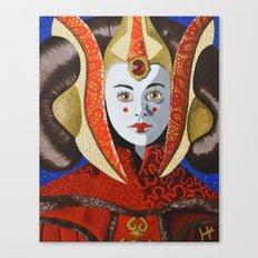 Queen Amidala Canvas Print