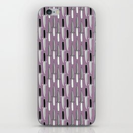 Double Knives in Mauve iPhone Skin