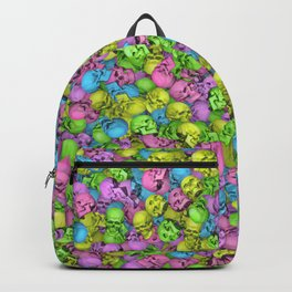 Neon skulls Backpack