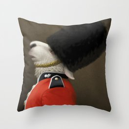 The Sheep Guard Throw Pillow