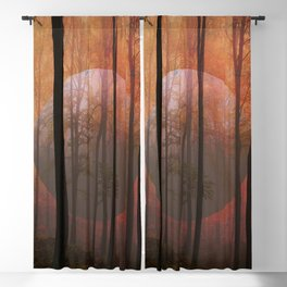Not From Here, Surreal Forest Blackout Curtain