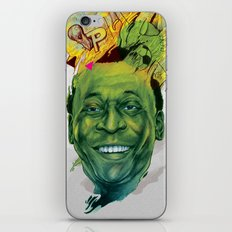 Rey Pele iPhone & iPod Skin