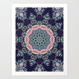 Shaping Realities (Mandala) Art Print