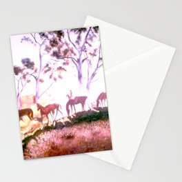 Returning to home pastures Stationery Cards