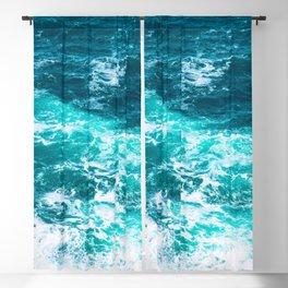 Marble Ocean - Ocean Photography Blackout Curtain