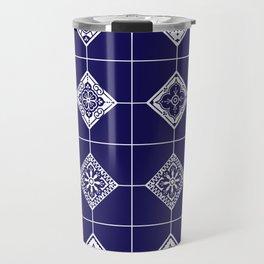 Talavera Mexican Tile – Porcelain Palette Travel Mug