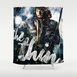 The Thing Shower Curtain